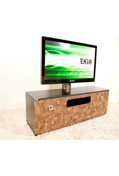 Ekia U3 Alüminyum Taşıyıcılı Tv Sehpası