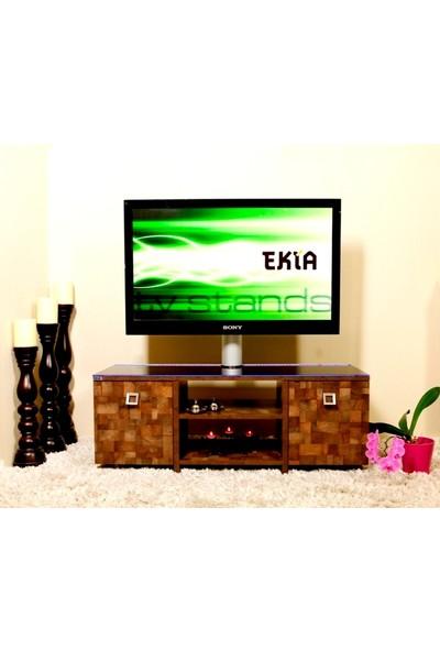 Ekia U10 Cam ve Askı Aparatlı Tv Sehpası