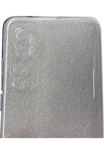 Case 4U Xiaomi Mi Note 10 Lite Kılıf Süper Silikon Arka Kapak Şeffaf