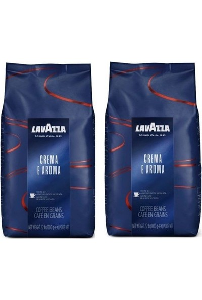 Lavazza Espresso Crema E Aroma 1 kg x 2'li