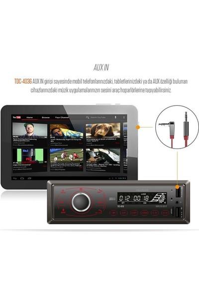 Navitech TDC-4036 Sd/usb Oynatıcılı Araç Radyosu