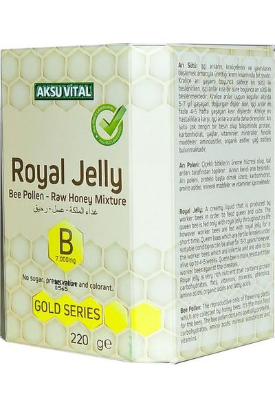 Aksu Vital Arı Sütü Polen Bal Karışımı 220 gr