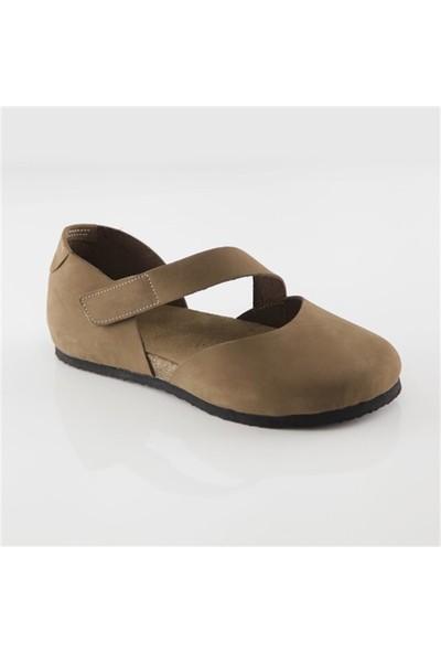 Ballerin's Deri Sydney Kadın Kum Sandalet