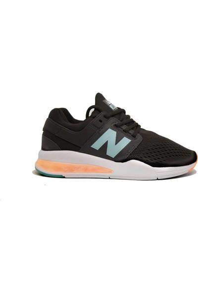 New Balance 247 Gri-Turkuaz Unisex Spor Ayakkabı