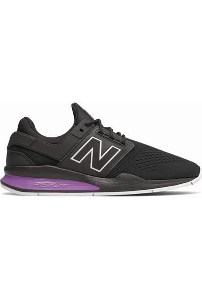New Balance 247 Siyah-Mor Unisex Spor Ayakakbı