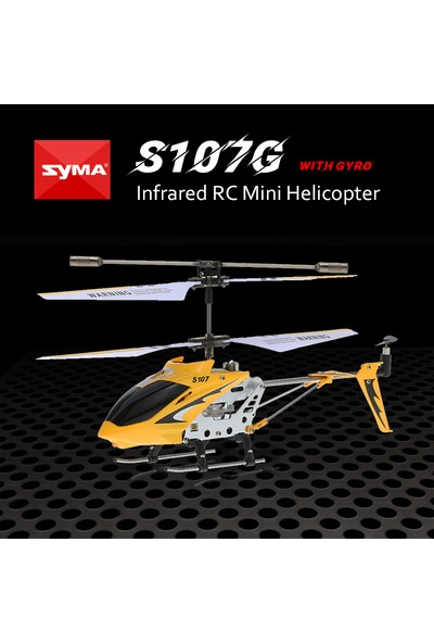 Syma S107G R / C Helikopteri (Yurt Dışından)