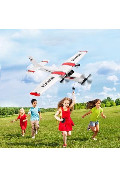Buyfun FX801 Uçak Cessna 182 2.4 GHz 2ch Rc Uçak Uçak Açık (Yurt Dışından)