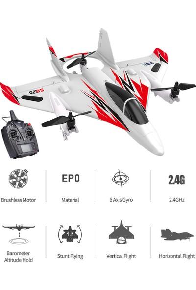 Jjrc Mo2 2.4g 6ch 3D / 6g Rc Uçak Fırçasız Çok Motorlu (Yurt Dışından)