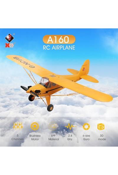 Wltoys A160 Rc Uçak 5 Kanal Fırçasız Uzaktan Kumanda Uçak (Yurt Dışından)