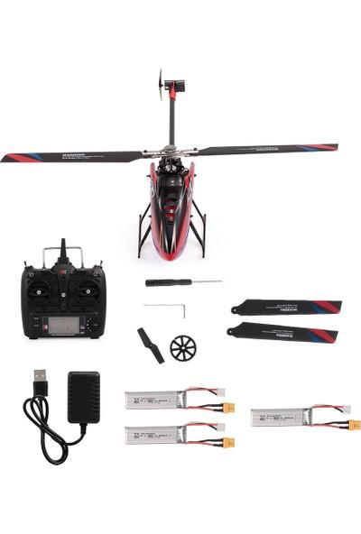 Wltoys Xk K130 Rc Helikopter 2.4g 6ch Fırçasız 3D6G (Yurt Dışından)