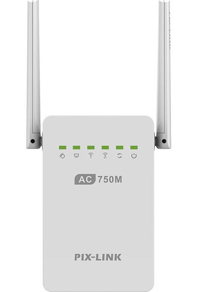 Buyfun AC02 Çift Bant 2.4 Ghz / 5 Ghz 750 Mbps Wifi Tekrarlayıcı (Yurt Dışından)