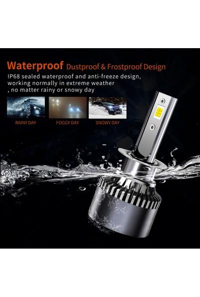 Kelvin H7 LED Xenon Far Ampul Şimşek Etkili Beyaz Güçlü Far