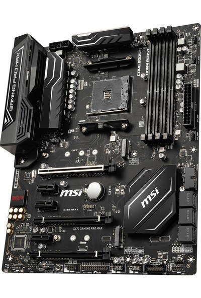 MSI X470 Gaming Pro Max AMD X470 AMD4 DDR4 2667MHz ATX Anakart