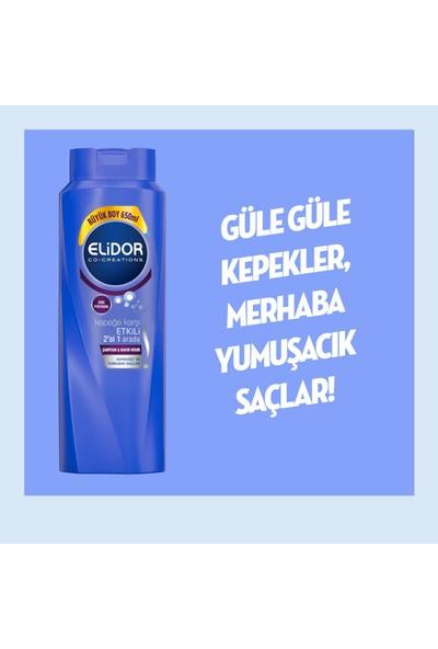 Elidor Kepeğe Karşı Etkili 2si 1 Arada Saç Bakım Şampuanı 650 ML