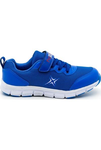 Noxis April Mavi Günlük Erkek Çocuk Yürüyüş ve Spor Ayakkabısı Mavi 35