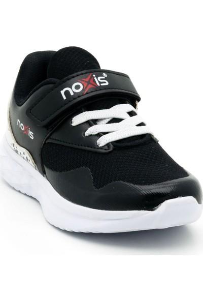 Noxis Force Günlük Erkek Çocuk Yürüyüş ve Spor Ayakkabısı Siyah 32