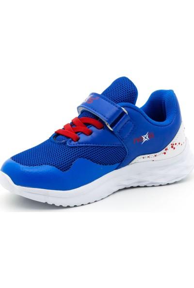Noxis Force Günlük Erkek Çocuk Yürüyüş ve Spor Ayakkabısı Mavi 33