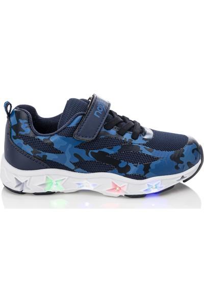 Noxis Ice Işıklı Erkek Çocuk Yürüyüş ve Spor Ayakkabısı Lacivert 28
