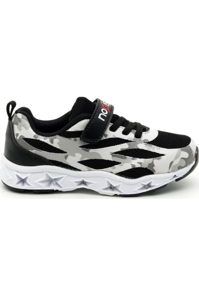 Noxis Ice Işıklı Erkek Çocuk Yürüyüş ve Spor Ayakkabısı Siyah 32