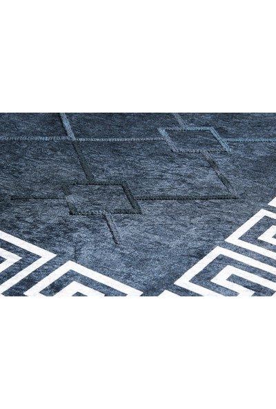 MarkaEv Tuft Lacivert Kilim 5026A 80 x 150 cm