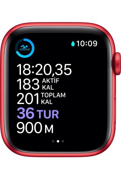Apple Watch Seri 6 40mm GPS PRODUCT(RED) Alüminyum Kasa ve Kırmızı Spor Kordon M00A3TU/A