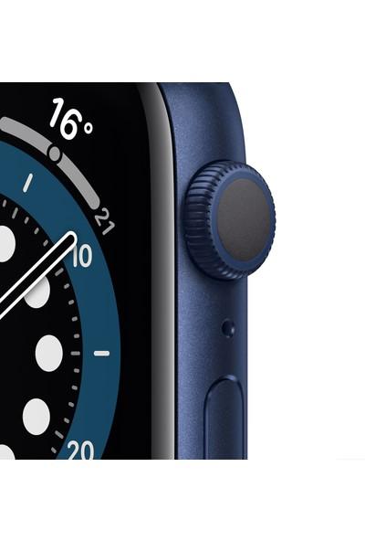 Apple Watch Seri 6 44mm GPS Blue Alüminyum Kasa ve Koyu Lacivert Kordon M00J3TU/A