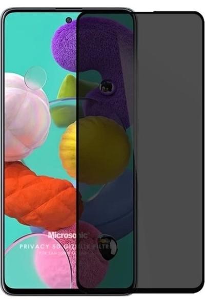 Epro Samsung Galaxy A51 Black Tam Kaplayan 5D Hayalet Privacy Cam