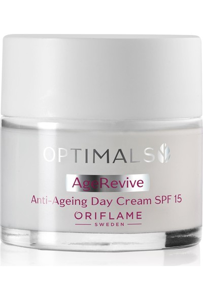 Oriflame Optimals Age Revive Yaşlanma Karşıtı Gündüz Kremi Spf 15, 50 ml