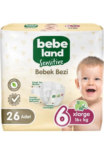 Bebeland Bebek Bezi Xlarge 26 Adet