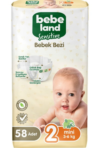 Bebeland Bebek Bezi Mini 58 Adet