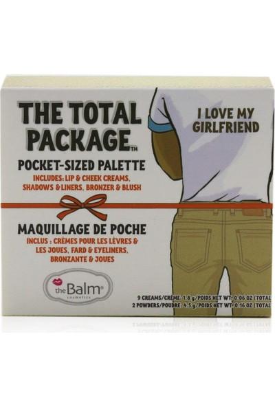 The Balm The Total Package I Love My Girlfriend Makyaj Paleti