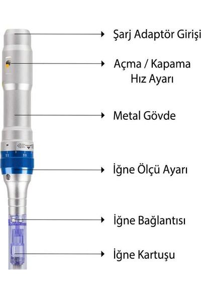Dr Pen A6 Dermapen Cihazı Dermaroller Dr.Pen Yüz Yenileme Temizleme Cilt Bakım Makinesi
