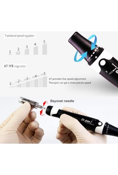 Dr Pen A7 Dermapen Cihazı Dermaroller Dr.Pen Yüz Sıkılaştırma Gerdirme Cilt Bakım Makinesi