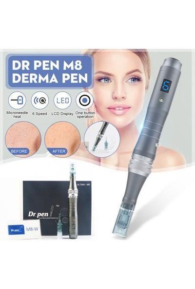 Dr Pen M8 Kablosuz Dermapen Cihazı Dermaroller Dr.Pen M8W Yüz Yenileme Temizleme Cilt Bakım Makinesi