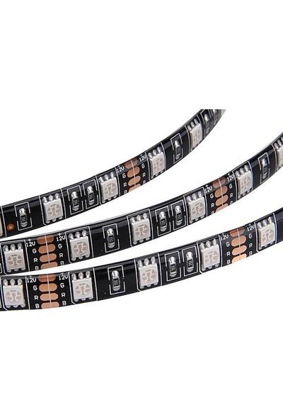 Dark 40cm 4pin RGB Led Şerit - Dişi Erkek Uzatma Bağlantılı (DKCFLED02)
