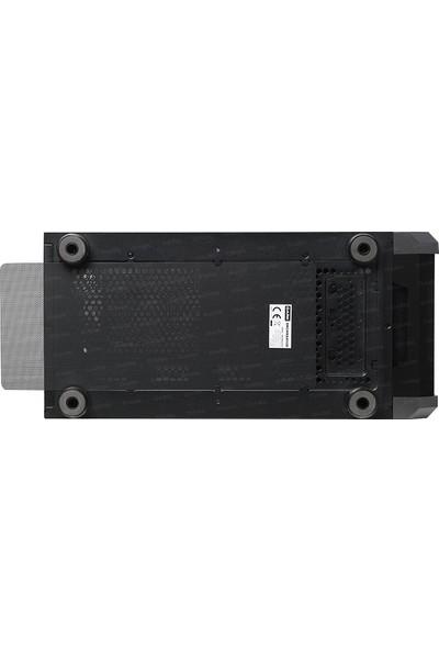 Dark Maxima V20 Temperli Cam Yan Panel, 2x20cm Ön + 1x12cm Arka ARGB LED Fanlı, Dikey Ekran Kartı Takılabilen, USB 3.0 Type-C, ATX Oyuncu Kasası (DKCHMAXV20)