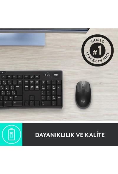 Logitech M191 Kablosuz Mouse - Gri 910-005922