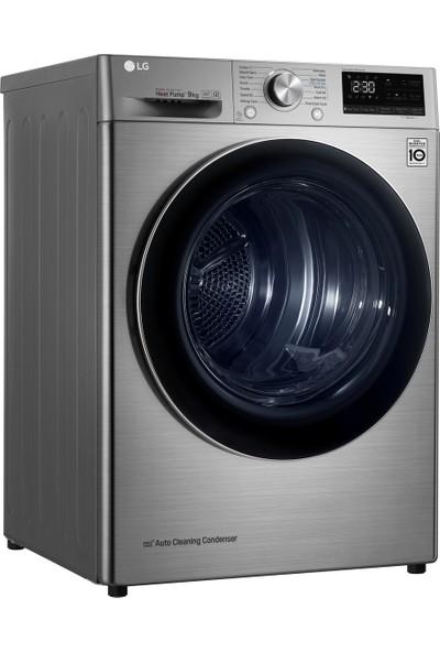 LG RC90V9EV2W 9 kg A+++(-%10) Çift İnverter Kurutma Makinesi