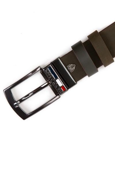 U.S. Polo Assn. Erkek Yeşil Kemer 50212186-VR027