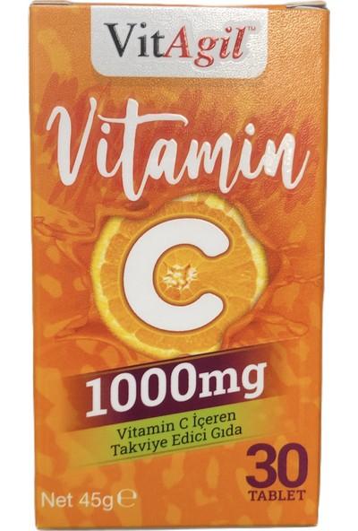 Allergo Vitagil Vitamin C 1000 mg 30 Tablet