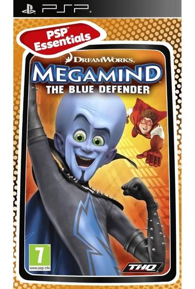 Dreamwork's Megamind The Blue Defender PSP Oyun