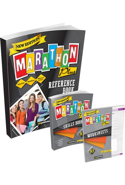 Yds Publishing 10. Sınıf New Edition Marathon Plus Reference Book + Skills Book + Worksheets