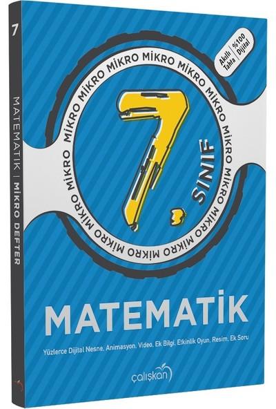 Çalışkan Yayınları 7. Sınıf Matematik Mikro Defter