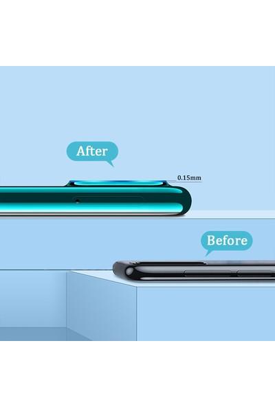 Kny Xiaomi Mi Note 10 Lite İçin Kamera Koruma Nano Cam Koruyucu Şeffaf