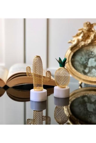 Gift Moda Giftmoda Mini Kaktüs ve Ananas Gece Lambası