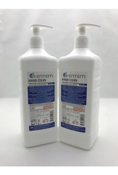 Entem Hand Clean Dezenfektan 1 lt x 2
