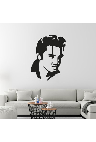 Rainbow Metal Art Elvis Presley Portre Metal Tablo