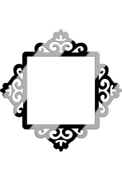 MB53 Dekoratif Aynalı Priz Süsü Tekli