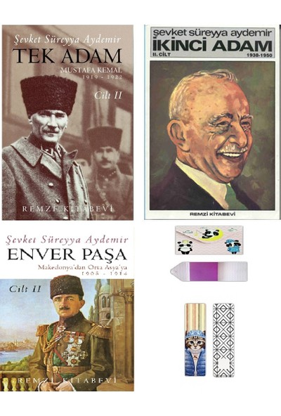 Şevket Süreyya Aydemir Tarihi Kişilikler Seti 2 ( Defter + Ayraç Hediyeli )
