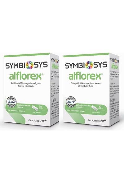 Alflorex Probiyotik 30 Kapsül 2'li Set